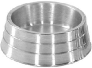 Comedouro aluminio pesado para hamster tratdog 60ml - Metalurgica Tra - 3,5x6cm