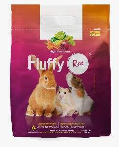 Racao fluffy roedores 1,8kg - Minas Nutri