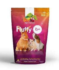 Racao fluffy roedores 500g - Minas Nutri