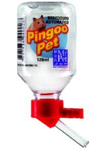 Bebedouro para Hamster Bico de Vidro - Mr Pet - 60 ml