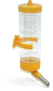 Bebedouro plastico drinker para hamster 125ml - Chalesco - 16x5cm