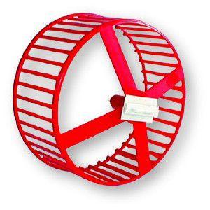 Roda de Exercício para Roedores - Mr Pet - 15 cm - c/ 6 un