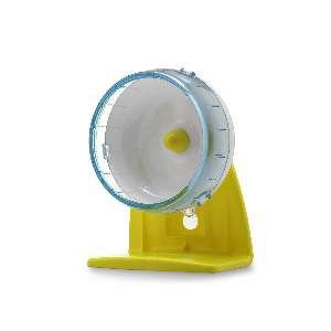 Roda de exercicio plastico para hamster P - Savana - 12x14x7,5cm