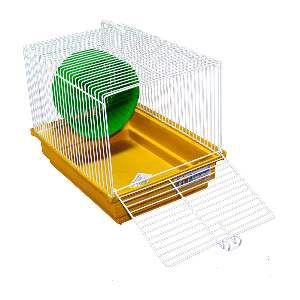Gaiola para Hamster - Bragança - (30 cm x 22 cm x 23 cm)