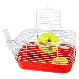 Gaiola para Hamster Top Star - Jel Plast - (14 cm x 27 cm x 20 cm)