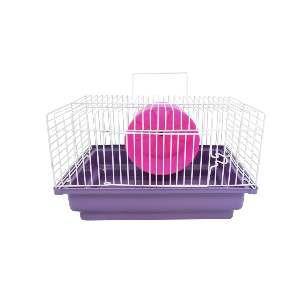 Gaiola para Hamster Brasileirinha - Jel Plast - (18 cm x 30 cm x 23 cm)
