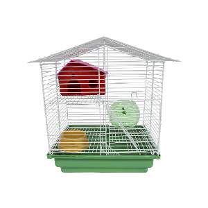 Gaiola para Hamster 2 Andares - Jel Plast - (51 cm x 30 cm x 23 cm)