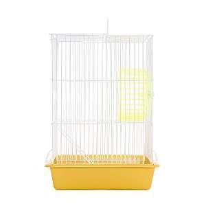 Gaiola arame hamster top amarela - Monaco - 18x26x40cm