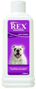 Shampoo Anti Sarna Rex - Lookfarm - 750 ml