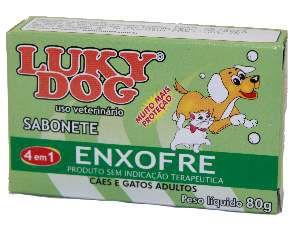 Sabonete Enxofre - Lucky Dog - 80 g