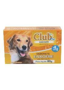 Sabonete Enxofre - Club Pet Luky - 80 g