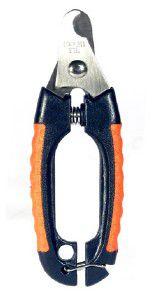 Alicate de Unha aco com cabo de plastico soft pequeno - Chalesco - 12x4cm