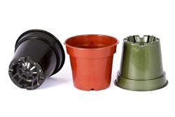 Vaso plastico colorido PF-11 - Big Plast - 11x8cm