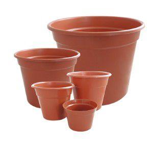 Vaso Plástico Ceramica N17 - Jorani - 18x14,5cm