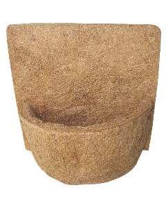Vaso fibra de coco parede 122 - Mato Verde - 22cm