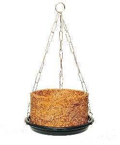 Vaso fibra de coco completo N1 - Jorani - 13x8,5cm
