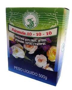 Fertilizante granulado 10-10-10 500g - Mato Verde