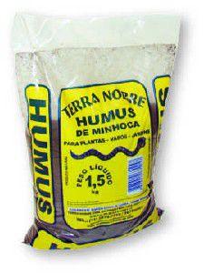 Adubo Natural Humus de Minhoca - Terra Nobre