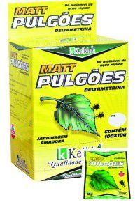 Inseticida Matt Pulgões display 10g - Kelldrin - com 100 unidades