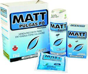 Inseticida Matt Pulgas Pó - Kelldrin - 100 g