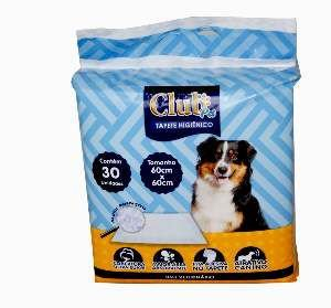 Tapete higienico 60x60cm - Club Pet Import - com 30 unidades