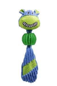 Brinquedo pelucia sorriso com mordedor - Savana - 30x9cm