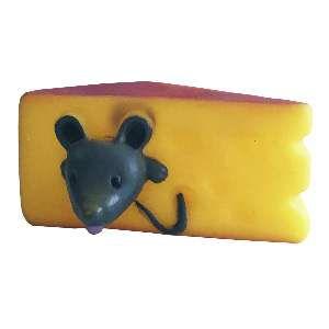 Brinquedo vinil queijinho - Home Pet - 10cm