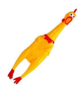 Brinquedo vinil galinha GG - Club Pet Import -  39x8.2x7cm