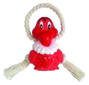 Brinquedo vinil aguia com corda - Club Pet Nicotoys - 22x9cm