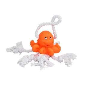 Brinquedo vinil polvo baby com corda - Club Pet Nicotoys - 16x6cm