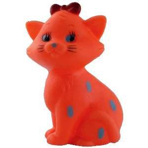 Brinquedo vinil gatinho com laco - Napi - 10 cm