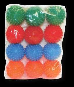 Brinquedo vinil bola cravo grande - Luna & Arreche - display com 12 unidades - 6cm
