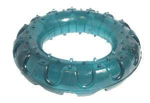 Brinquedo PVC pneu off road flex colorido M - Club Still Pet - 12,5mm