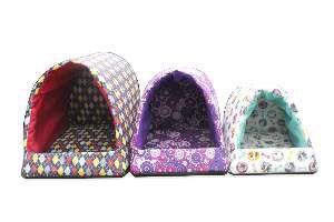 Cama corino iglu super luxo - Club Pet Chickao - com 3 unidades