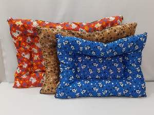 Colchonete tecido kit - ANK Camas - com 3 unidades - 95x70x10cm