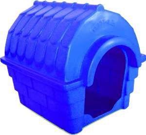 Casa Plástica Inteiriça Nº 1 - Plast-Kão - (42 cm x 47 cm x 54 cm)