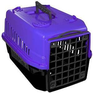 Caixa de transporte podyum N1 lilas - MEC PET - 42x32x28cm