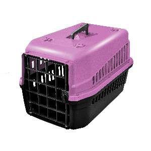 Caixa de transporte podyum N1 rosa - MEC PET - 42x32x28cm