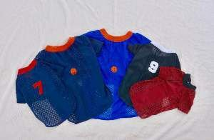 Camiseta poliester esportiva M - Club Pet Chickao - 38x55cm