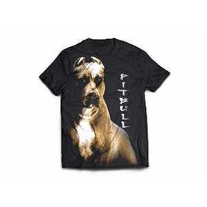 Camiseta poliester pit bull GG - Club Pet Dantas - 77x58cm