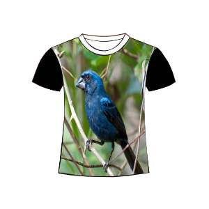 Camiseta poliester azulao G - Club Pet Dantas - 70x50cm