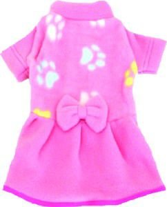 Vestido soft estampado com lacinho G - Club Pet Chickao - 40x56cm