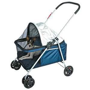 Carrinho de transporte metal baby dog - American Pet's - ext. 75x49x86cm/int. 55x35x46cm
