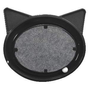 Brinquedo plast super cat relax - Preto - Furacao Pet - 44x40x5cm