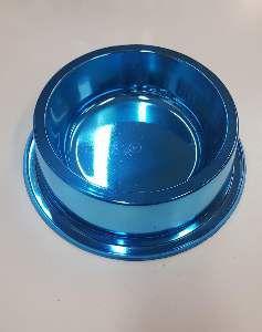 Comedouro plastico anti formiga prime azul 1900ml - Pet Toys - 22x8cm