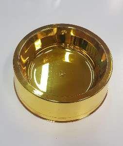 Comedouro plastico prime ouro 1900ml - Pet Toys - 22x8cm