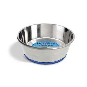Tigela inox Duramax com Silicone - Chalesco - 300 ml - 12x4cm