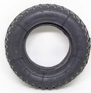 Brinquedo borracha macica pney baby - LCM - 190mm - caes medio/grande porte