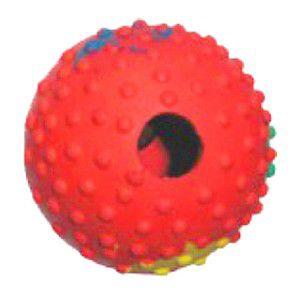 Brinquedo borracha bola para racao - Chalesco - 8cm