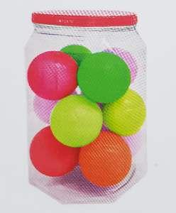 Brinquedo macico bola basquete 55mm - Pet Toys - com 12 unidades
